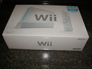WII System in Box Used