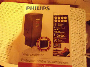 Philips Home Theater Surge Protector BNIB