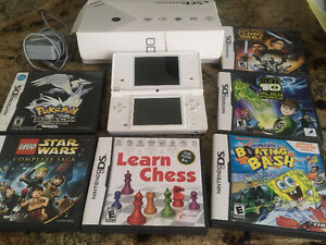 Used DSI, Good condition, Games Included!