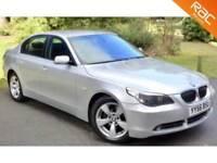 2006 56 BMW 5 SERIES 3.0 530D SE 4D AUTO 228 BHP DIESEL 47MPG+GREAT PERFORMANCE!