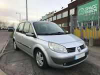 2005 RENAULT SCENIC 1.9 DCI DYNAMIQUE PANORAMIC ROOF 6 SPEED GEAR BOX DIESEL