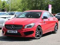 2014 Mercedes-Benz CLA CLASS COUPE CLA 180 AMG Sport 4dr Coupe Petrol Manual