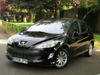 Peugeot 308 1.6 SE AUTOMATIC**1 OWNER**FSH**LOW MILES - 78K**
