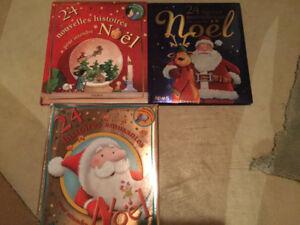Livres d'enfant pour attendre Noel