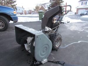 10 HP and 8 HP Craftsman Snowblowers for Sale