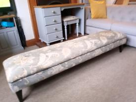 Gorgeous Elegant Large Footstool
