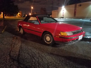MINT 1987 TOYOTA CELICA GT CONVERTIBLE