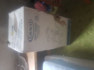 Brand new in box stroller and car seat
