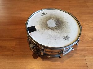 Vintage Rogers Dynasonic Snare Drum Brass