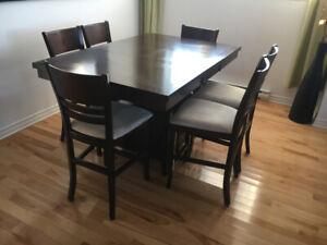 Set table à manger 6 places