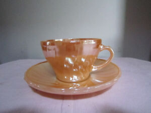 ANTIQUE/VINTAGE ANCHOR HOCKING SUBURBIA GOLD DINNERWARE FOR SALE