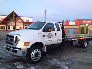 Ford F650 Tow Truck