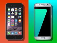 Wanted any iPhones 7,7 plus,Samsungs s7,s7 edge,s8,s8plus