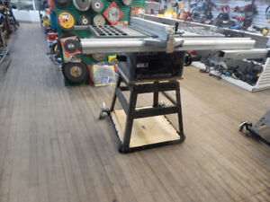 20 % off miter and table saws  at the 689r new and used store