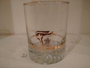Canada Olympic Gold rimmed glasses