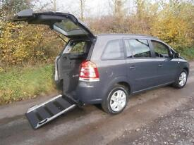 2013 Vauxhall Zafira 1.8i Exclusive 5dr WHEELCHAIR ACCESSIBLE VEHICLE 5 door ...