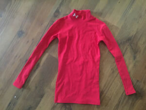 Under Armour Youth Size Small Compression Shirt