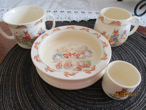 Bunnykins- Royal Dolton & Co. Dishware set
