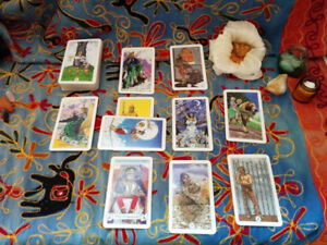 $20/20 Minute Intuitive Tarot Readings in the Crystal Salt Cave