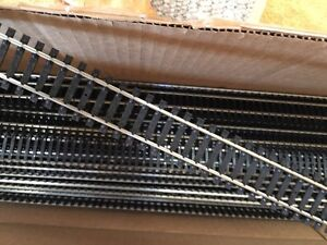 "HO Train Track 36"" sections Atlas 168 Silver $5/ea"