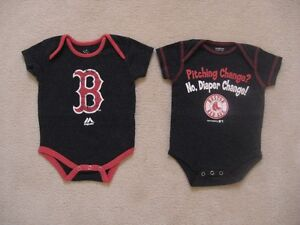 Boston Red Sox MLB Baby Onesies