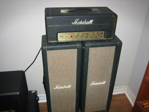 1968 Marshall Model 2022-JMP LEAD 20 head and 2- 210 cabs