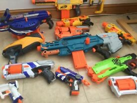 Nerf guns bundle