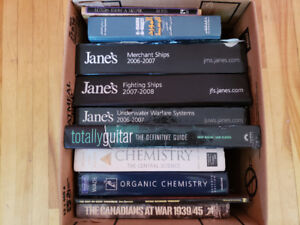Free Books (Science Texts, Guitar, Jane's Fighting Ships, etc.)
