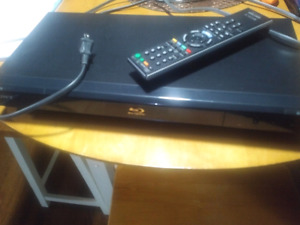 Sony blu ray player used twice.