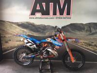 KTM SX250 2015 MOTOCROSS BIKE, TRICK TIDY BIKE, FMF 2.1, TWINWALLS (ATMOTOCROSS)