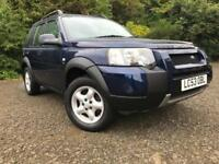 *CHEAP WINTER RUNAROUND*2004 LANDROVER FREELANDER 2.0 TD4 5DR SE ONLY 107K*