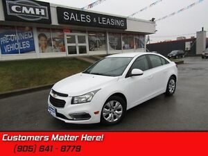 2015 Chevrolet Cruze LT w/1LT   BLUE TOOTH! CAMERA! REMOTE START