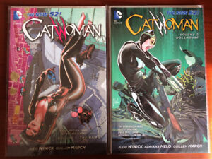 Catwoman the new 52 comic books/graphic novel TPB (8 books)