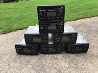 FORD STEREOS JOB LOT CD PLAYERS AND TAPES