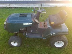 Craftsman lawn tractor 42in deck 14.5hp