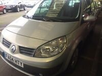 Renault Scenic dynamique dci, red,manual, 10 MONTHS MOT £999