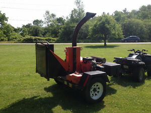 "6"" Wood Chipper + Operator Rental $40/hr"
