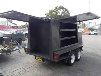 Tandem Enclosed Tradesman Trailers Granville Parramatta Area Preview