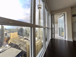 1 Bed + 1 Den    300 Front St West Lease Downtown Toronto Tridel