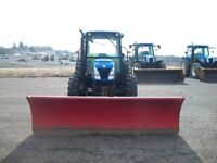 New Holland T4030 78Hp tractor & 10ft Western Ultrafinish Plow