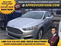 "FUSION - TEXT ""AUTO LOAN"" TO 519 567 3020 GUARANTEED CREDIT"