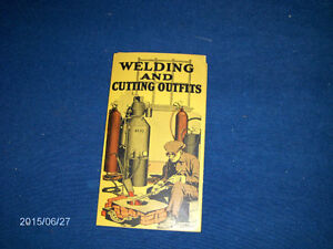 RARE 1924 BROCHURE-WELDING & CUTTING OUTFITS-ACME OXYGEN CO.