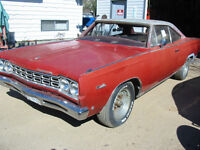 68 PLYMOUTH SATELLITE 2 DOOR COUPE