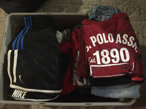 Lot of boys clothes mostly designer and name brand 5 5-6 6 6-7 7