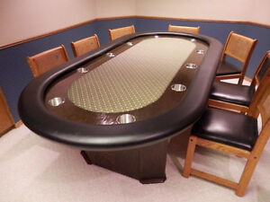 The Best LOCAL High Quality Built Poker Tables from $300 and up. Regina Regina Area image 4