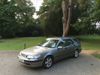 2001/51 Saab 9-5 2.0 T Auto SE 5 Door Estate Grey