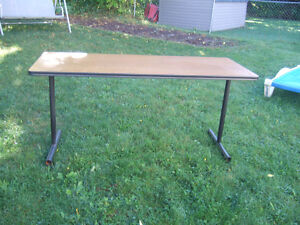 3 tables 5 ft x 2 ft in excellent condition only $25 each