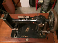 Early1900s Original New Williams Antique Sewing Machine