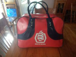 Vintage Molson Gym / Duffle / Travel Bag