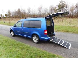2011 61 Volkswagen Caddy Maxi 1.6 Tdi ONLY 38k Disabled Wheelchair Accessible